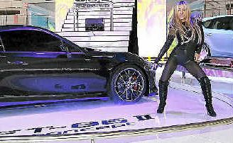 Havana Brown helped reveal the Toyota FT-86.