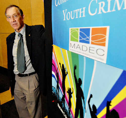 Professor Ross Homel believes living in poverty and inconsistent discipline from parents are just some of the factors that lead youths to being more likely to commit crimes.