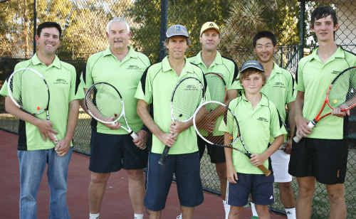 Emerald Tennis honoured its season one winners with a presentation at the weekend.