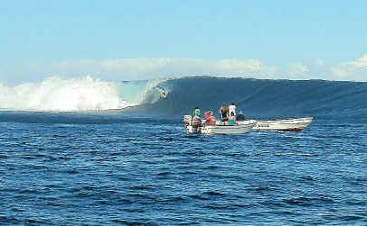 Cloudbreak was the surfers' break of choice as Fiji experienced one of the most consistent clean big swells in decades.