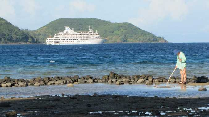 Captain Cook Cruises' first ever circumnavigation of Fiji's second-biggest island, Vanua Levu, in June in the MV Reef Endeavour had been five years in the making.