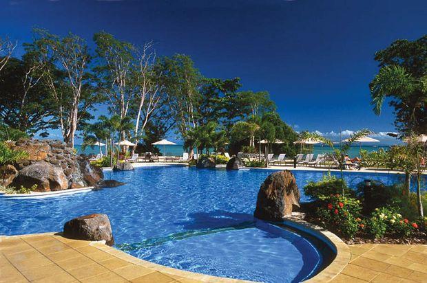 Samoa's Aggie Grey's Lagoon, Beach Resort and Spa.