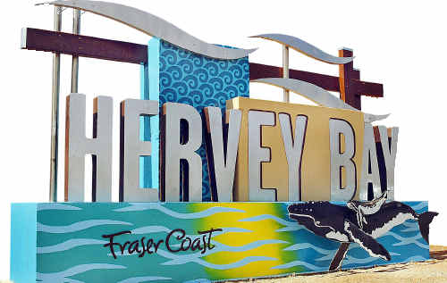 There is no such place as the suburb of Hervey Bay. It should be known as the CBD so that it can be recognised by the world.