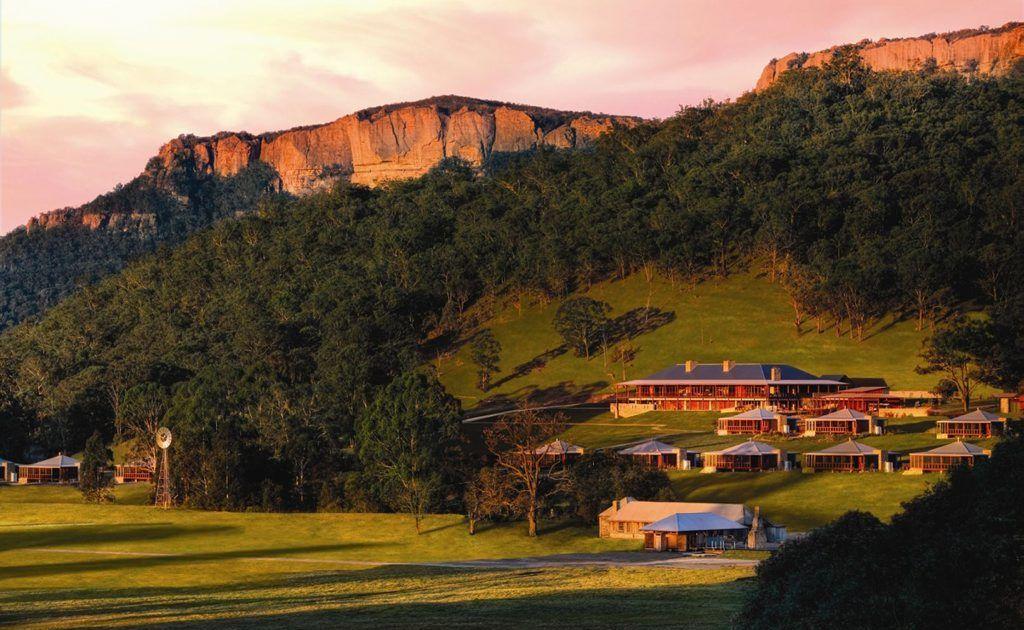 Wolgan Valley Resort & Spa.