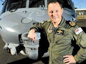 Glider now a navy commander