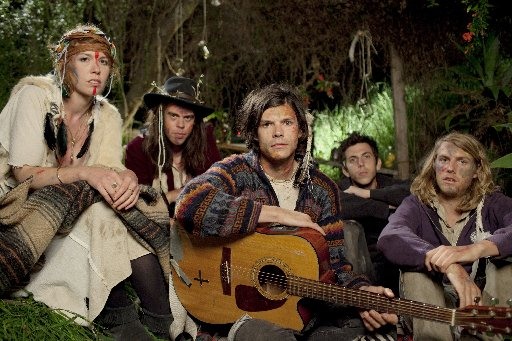 GROUPLOVE play Splendour in the Grass at the Amphitheatre on July 31 at noon.