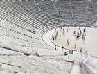 The ancient theatre at the Sanctuary of Epidaurus.