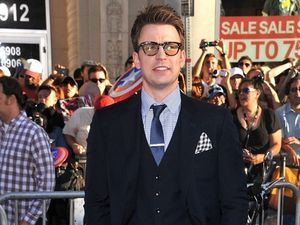 Chris Evans thrilled with geek look