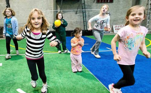 Socialising as well as skills development is an integral part of the city's new sports group for disabled children.
