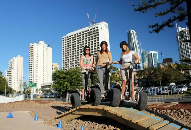 Australia's first segway xperience opens on Gold Coast.