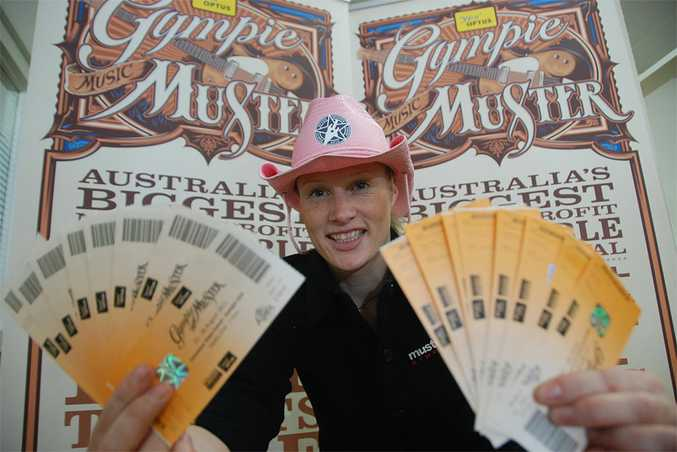 Gympie Muster office manager Sarah Peters says ticket sales are going well.