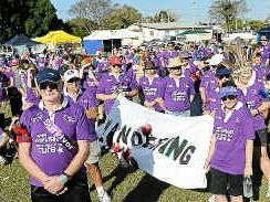 Council walkers win Relay for Life