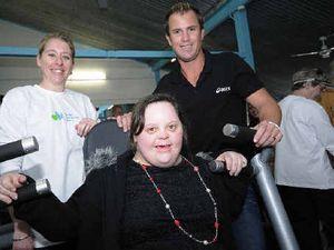 Kyogle's celebrity gym opening