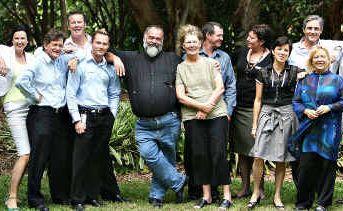 Sunshine Coast councillors, from left, Chris Thompson, Jenny McKay, Paul Tatton, Russell Green, Christian Dickson, Mayor Bob Abbot, Vivien Griffin, Ted Hungerford, Debbie Blumel, Keryn Jones, Tim Dwyer, Anna Grosskreutz, and Lew Brennan.