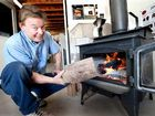 Clarence valley residents have been rugging up at night in a bid to get warm.