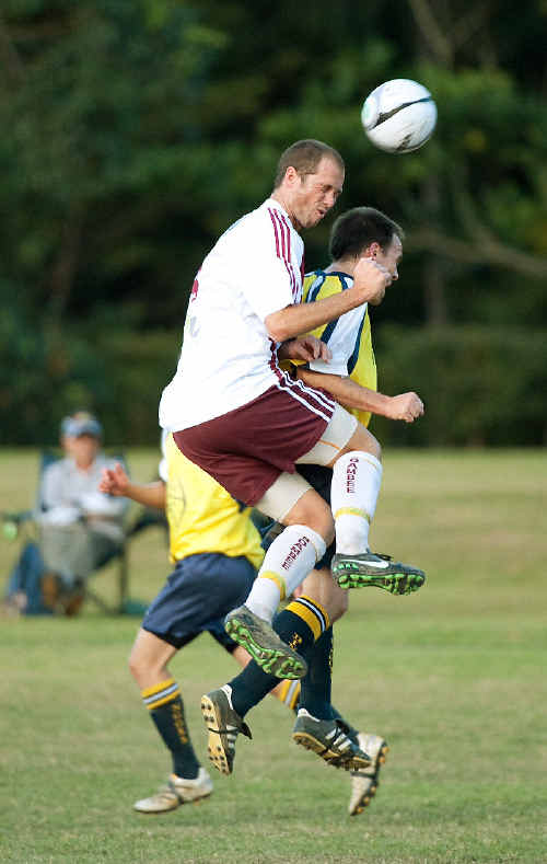 No quarter was given in the clash between Boambee and Orara Valley on Sunday.