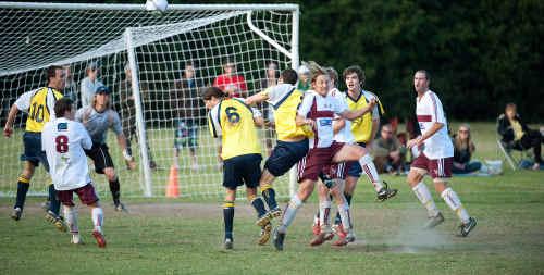 Despite losing on Sunday Orara Valley had the Boambee defence under plenty of pressure.