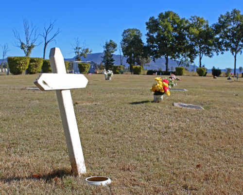 The Blackwater Lawn Cemetery will remain despite the threat it faces from an underground coal mine.