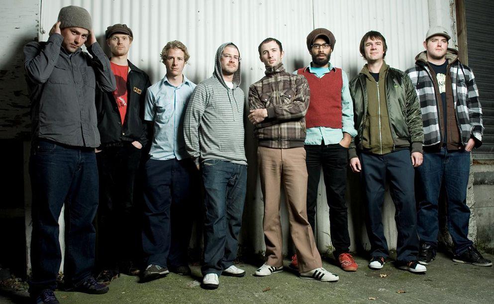New Zealand reggae band The Black Seeds.