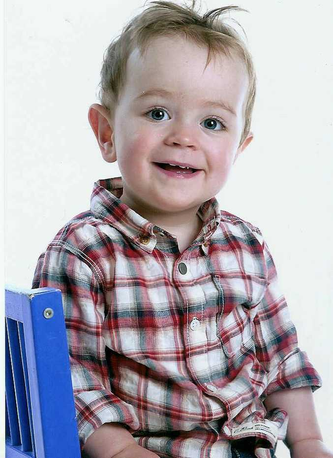 Jimmy Jones, 4, living with Fragile X.
