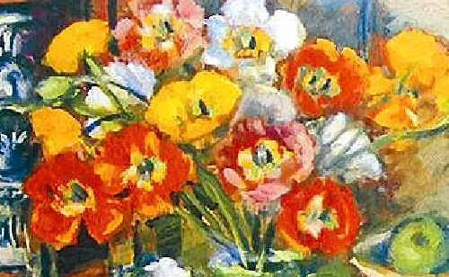 Poppies by Margaret Olley