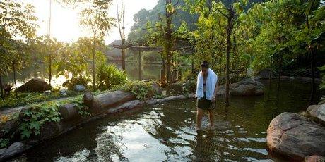 The Banjaran Spa Resort near Ipoh, Malaysia.