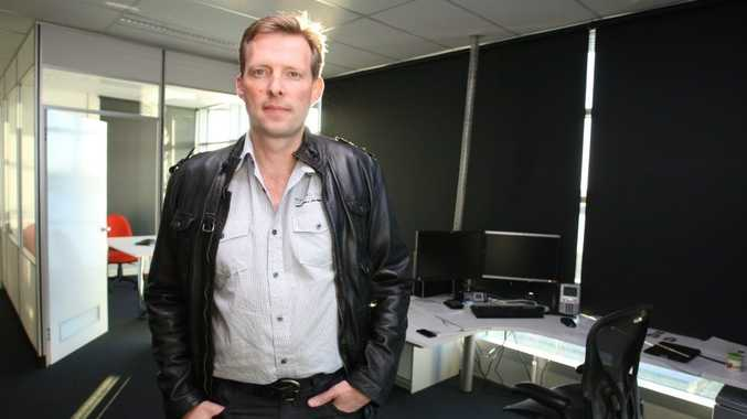 Youi CEO Hugo Schreuder in the company's new call centre at Birtinya.