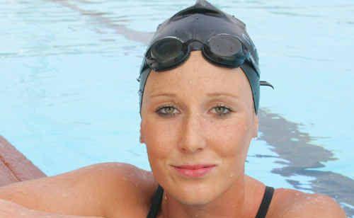 Natasha Harrison, 18, won the 17-18yrs, 5km and 10km Australian Open Water Swimming Titles.