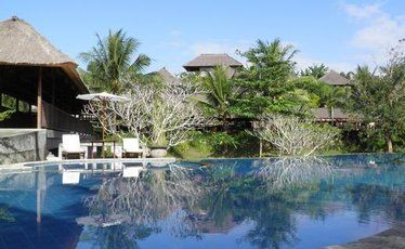 You can't help but relax at the Santi Mandala Villa and Spa.