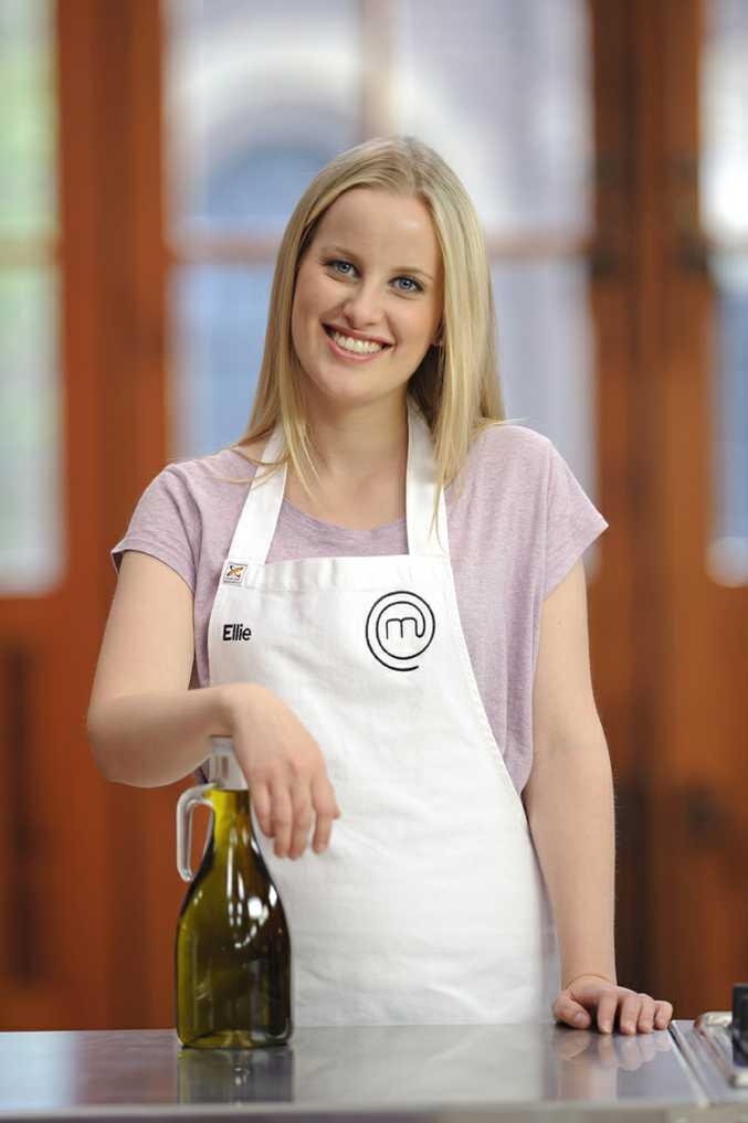 MasterChef Australia Top 5 contestant Ellie Paxton-Hall.