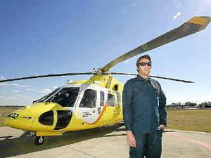 $125k donation for rescue chopper