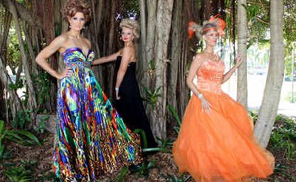Rachel Allison, Bree Rooney and Olivia Nesham model creative and edgy hairstyles at the 2011 International Hair Society (IHS) Mackay competition at the MECC yesterday.