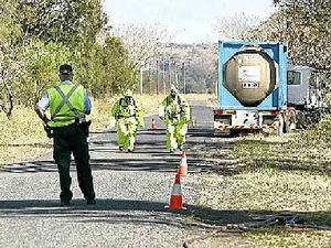 Chemical spill closes CQ road