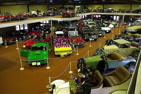 McFeeters Motor Museum.
