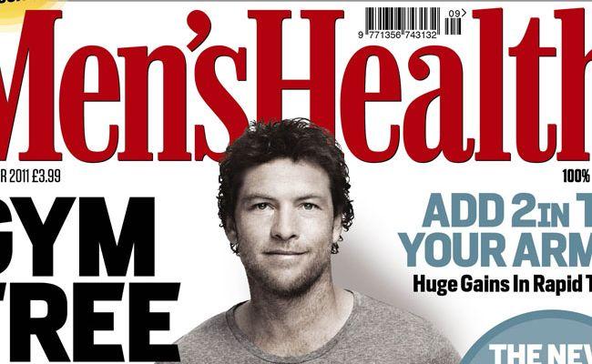 Sam Worthington will appear on the September cover of UK Men's Health.