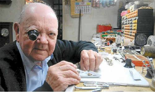 Bob Nurnberger (above) continues to work as a watchmaker, a trade he completed upon exiting the RAAF. He is looking forward to the 60th anniversary reunion, which will be held in September in Townsville.