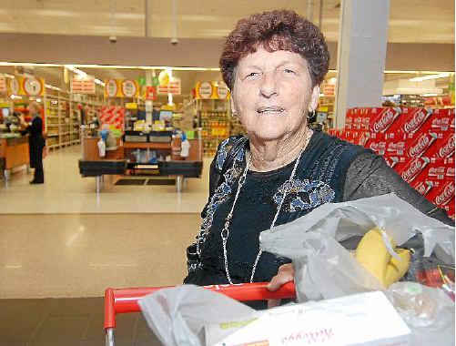 Mackay shopper Dawn Leeson has noticed price rises.