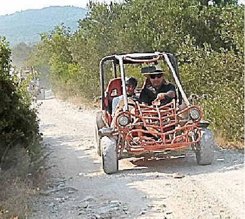 EXCITING: Buggy riding in Korcula.