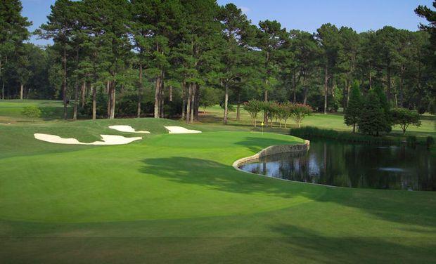 Hole 11 of the Atlanta Athletic Club course.