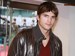 Kutcher's tense first day on set