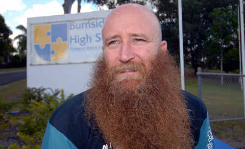 Burnside High School chaplain Matt Brady hopes funding continues for Australia's thousands of chaplains.