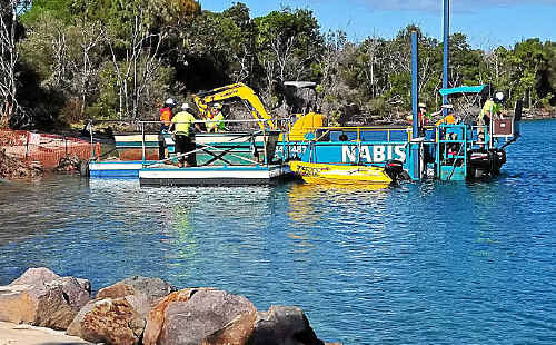 Noosa Spit restoration work has started with some residents saying it's long overdue.