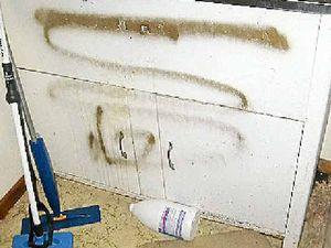 $50k bill for vandals' damage