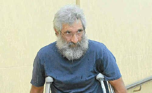 Mining truckie Dave Jessup testified at the trial in November, 2009. Although he suffered multiple leg fractures, he said his then current injury was not connected with the crash.