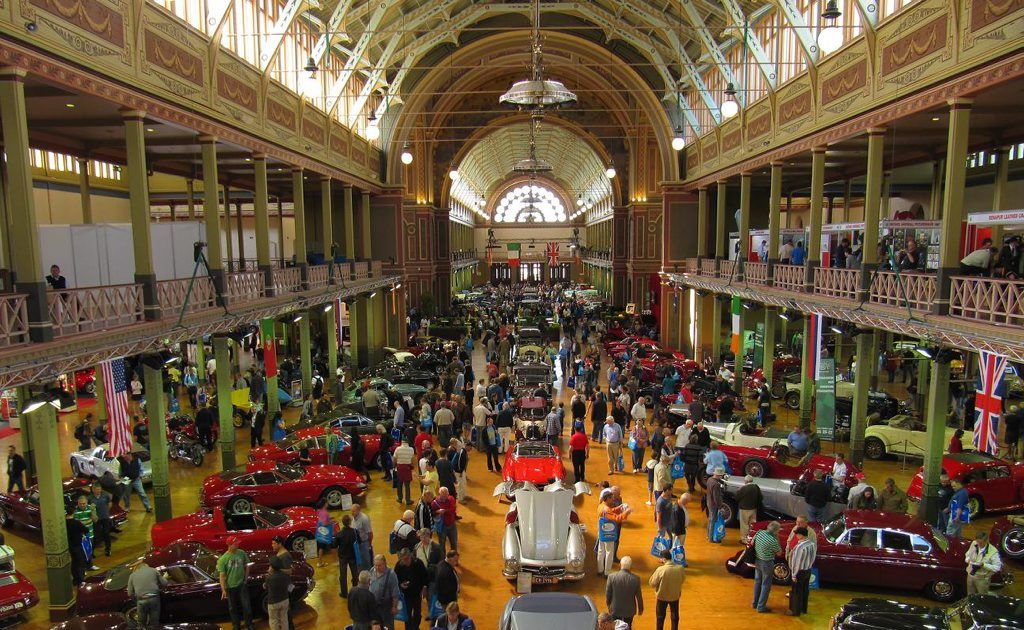 The annual event attracts car enthusiasts from all corners of the globe.