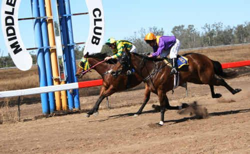 Tomorrow's Middlemount Cup is expected to hold plenty of action for punters, both on and off the track.