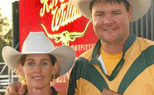 Emerald's Leanne and Shane Kenny were winners at the Richmond Rodeo last weekend.