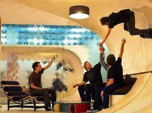 House made for skateboarding