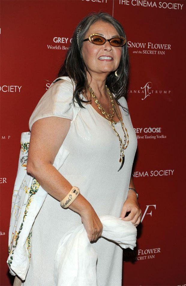 Actress Roseanne Barr.