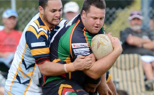 The enthusiasm of Sawtell prop Jeremy Wood was a big factor in the Panthers' thrilling comeback yesterday.